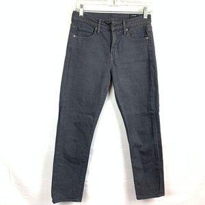 Vince Skinny Crop Jeans Slate Gray Women's Size 26